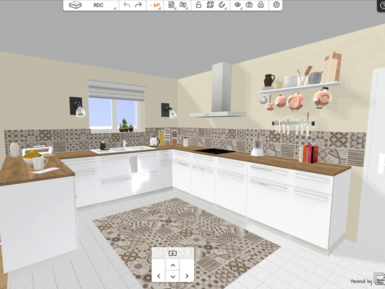 Outil pour dessiner son plan de cuisine gratuit et en ligne
