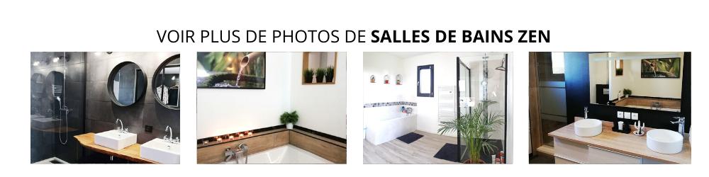 VOIR PLUS DE PHOTOS DE SALLES DE BAINS ZEN