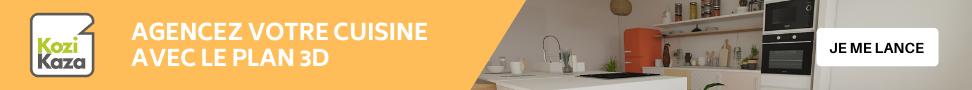 agencez votre cuisine avec le plan 3D