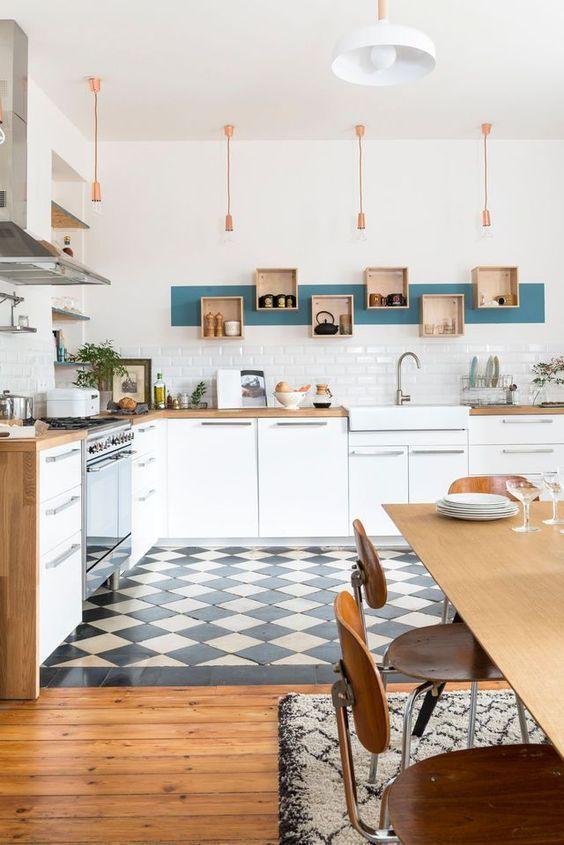 cuisine scandinave retro