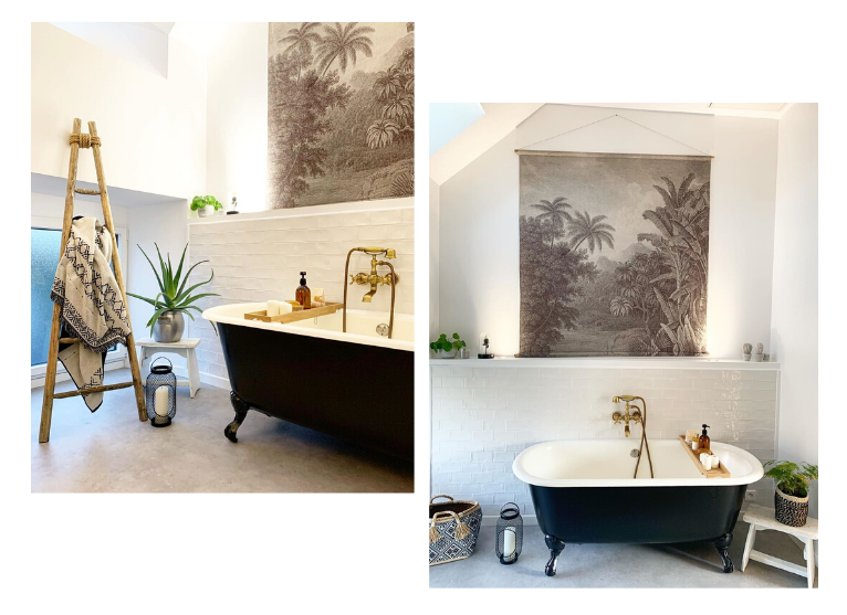 baignoire ilot salle de bain design