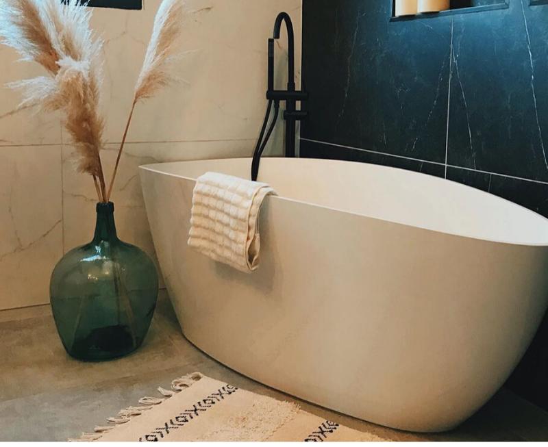 baignoire ilot salle de bain design inspiration