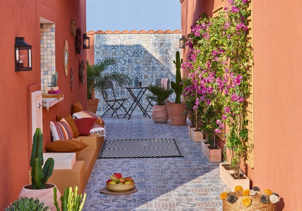 jardin terrasse ambiance sud-américaine